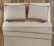 Charlotte Rouge Quilt Bedding
