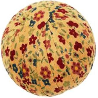 "Cookie Cutter Fabric Ball 2-2.5"" ea. Set of 6"