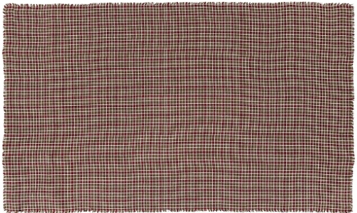 Everson Burlap Plaid Table Cloth 60x120