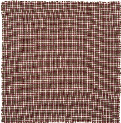 Everson Burlap Plaid Table Cloth 60x80