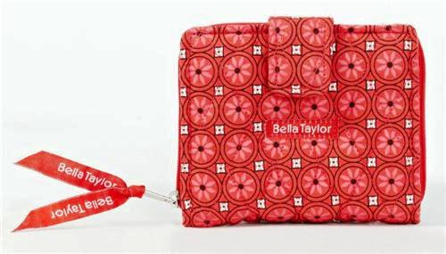 Poppy Plaid Quilted Small Wallet