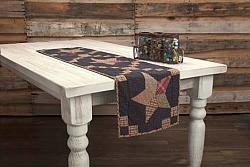 Arlington Runner Quilted Patchwork Star-Arlington Runner Quilted Patchwork Star