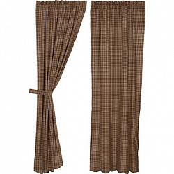Prescott Panel Scalloped Curtain Set-Prescott Panel Scalloped Curtain Set