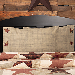 Abilene Star Standard Pillow Case Set-Abilene Star Standard Pillow Case Set