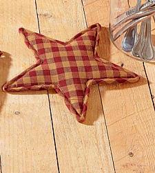 Burgundy Star Trivet Star Shape-Burgundy Star Trivet Star Shape