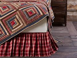 Braxton Queen Bed Skirt-Braxton Queen Bed Skirt