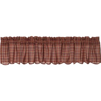 Parker Scalloped Valance Curtain-Parker Scalloped Valance Curtain