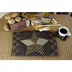 Farmhouse Star Placemat Quilted Set-Farmhouse Star Placemat Quilted Set
