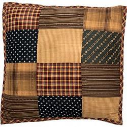 Patriotic Patch Quilted Pillow-Patriotic Patch Quilted Pillow