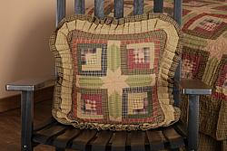 Tea Cabin Pillow Quilted-Tea Cabin Pillow Quilted
