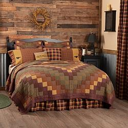 Heritage Farms Twin Quilt 68Wx86L-Heritage Farms Twin Quilt 68Wx86L
