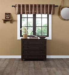 Crosswoods Valance Curtain-Crosswoods Valance Curtain