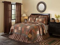 Crosswoods King Quilt-Crosswoods King Quilt