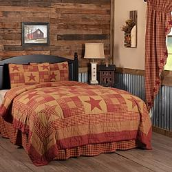 Ninepatch Star Twin Quilt Set-Ninepatch Star Twin Quilt Set