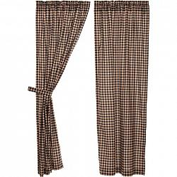 Bingham Star Panel Curtain Plaid Set