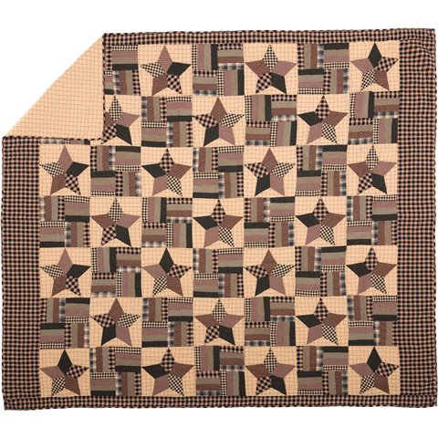 Bingham Star Luxury King Quilt-Bingham Star Luxury King Quilt